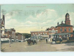Divided Back SHOPS AT TREMONT SQUARE Claremont New Hampshire NH hs3889