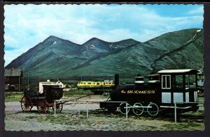 Yukon Transportation,Stagecoach,Train