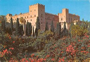 Turkey Old Vintage Antique Post Card Rhodes Castello 1973