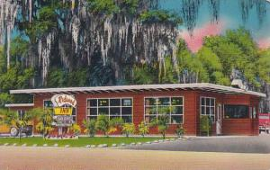 Florida Tampa Redwood Inn 1956