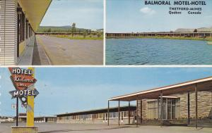Thetford Mines , Quebec , Canada , 50-60s ; Balmoral Motel-Hotel #2