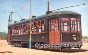 Southern US Street Car System Prange Empire Trolley Museum, Perris, CA, USA U...