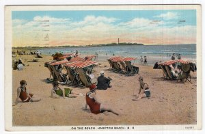 Hampton Beach, N.H., On The Beach