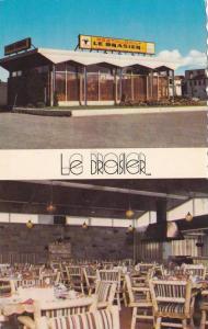 2-Views, Restaurant Le Brasier, St. Barnabe, RIMOUSKI, Quebec, Canada, 40-60s