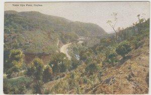Sri Lanka / Ceylon; Nanu Oya Pass, No 60 PPC By Plate, Unposted, c 1930's