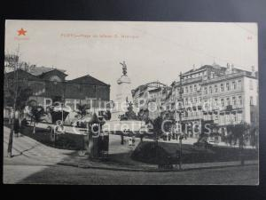 Old PC - Portugal: PORTO - Praca do Infante D. Henrique