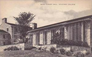 Maryland Baltimore Mary Fisher Hall Goucher College