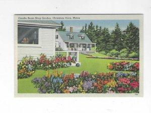 Vtg 1940's Christmas Cove, Maine Postcard