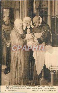 Postcard Old Bruges Hopital Saint John Adoration of the Magi The Presentation...