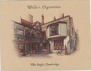 Wills Cigarette Card 2nd Series No 12 The Eagle Cambridge