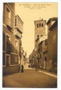 TOLEDO, Soain, 00-10s Calle de Santo Tome