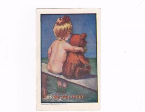 Girl & Teddy Bear , Me and TEDDY , PU-1908