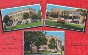Texas Sherman Thompson Hall Luckett Hall & Sherman Hall Austin College