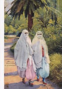 Algeria Mauresques en promenade