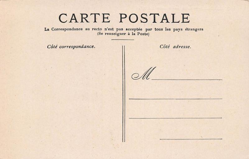 Versailles, France, Le Grandes Eaux, early postcard, unused