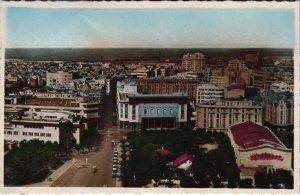 CPA AK MAROC CASABLANCA - Vue de la Poste et Avenue d'Amade (116294)