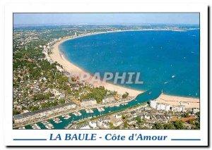 Modern Postcard La Baule French Love