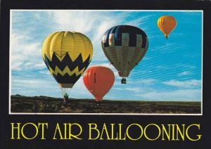 Balloon lift off from Albuquerque's west mesa, Albuquerque, New Mexico, 40-60s