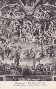 Michelangelo Il Giudizio Universale Cappella Sistina Palazzo Vaticano Roma