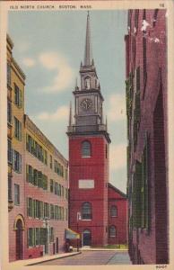 Massachusetts Boston Old North Church 1940