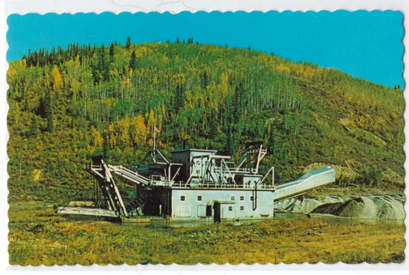 Gold Dredge, Dawson City Yukon