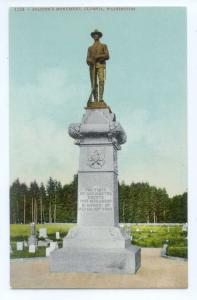 D/B Soldier's Monument Olympia Washington WA