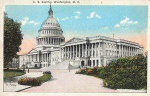 Postcard US Capitol Washington DC