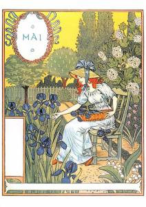 Mai, Eugene Grasset Unused