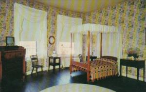 Indiana Vincennes West Bedroom Grouseland Home Of William Henry Harrison