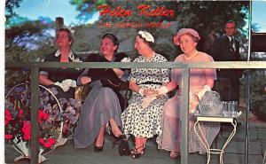 Tuscumbia AL Ivy Green Helen Keller America's Most Beloved Lady Postcard