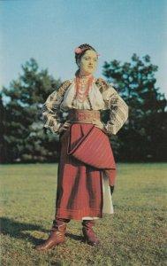 UKRAINE , 1940-60s ; Native Girl