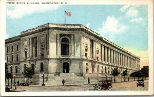 Vtg 1920s House of Representatives Office Building Washington DC Postcard