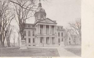 Front view,  The State Capitol,  Concord,  New Hampshire,  00-10s