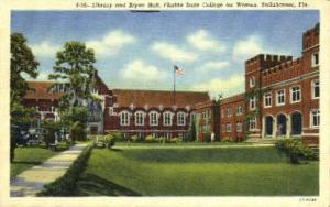 Florida State College for Women Tallahassee FL no stamp