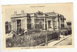 DAKAR, Senegal, Salle du Conseil du Gouvernement, 1910s