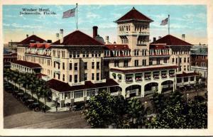 Florida Jacksonville Windsor Hotel 1933