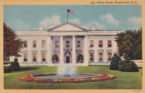 Washington D C The White House Curteich
