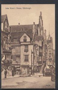 Scotland Postcard - John Knox's House, Edinburgh    RS6213
