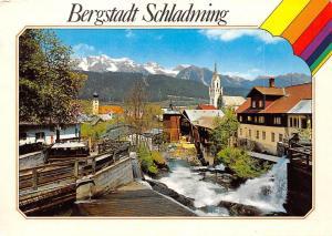 Bergstadt Schladming Motiv am wildromantischen Talbach