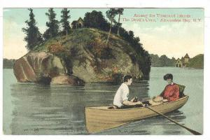 Among the Thousand Islands,The Devil's Oven, Alexandria Bay,New York,00-10s