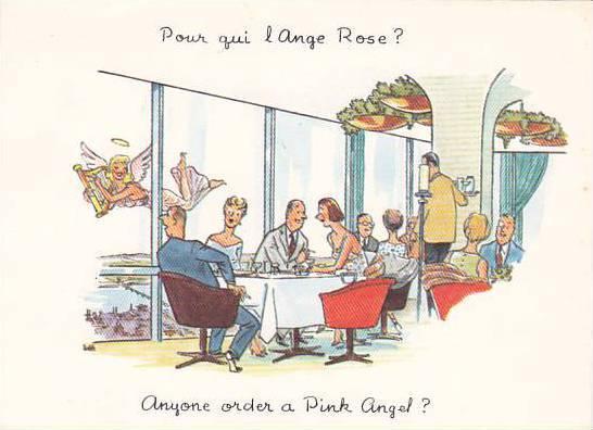 Comic: Anyone Order A Pink Angel?,1950-1970s