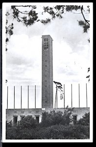 Summer Olympic Games Berlin 1936 Bell Tower Stadium CDS No Code RPPC
