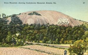 GA - Stone Mountain. Confederate Memorial