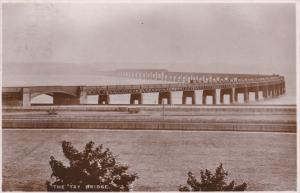 RP: Tay Bridge , Scotland , PU-1934 ; TUCK