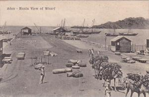Yemen Aden Maala View Of Wharf