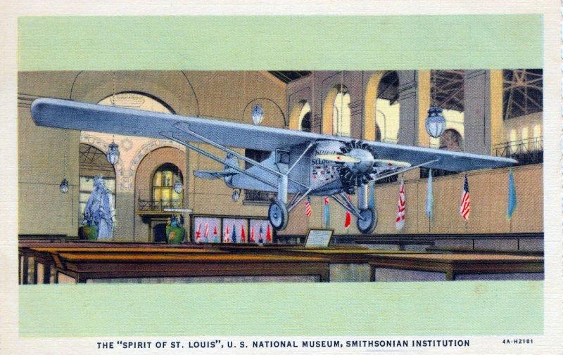 [ Photo-Colorit ] US Washington, D.C. - Smithsonian Spirit Of St. Louis