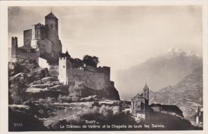 Switzerland Sion Le Chateau de Valere et la Chapelle de tous les Saints Photo