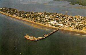 Puntarenas Costa Rica Vista aerea del Puerto de Puntarenas en el Pacifico Pun...