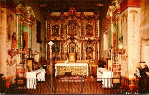 California Mission San Juan Capistrano The Altar