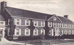 North Carolina Greensboro Bennett College Carrie Barge Hall Artvue